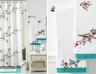 imagen Ideas: Cortinas de baño muy chic