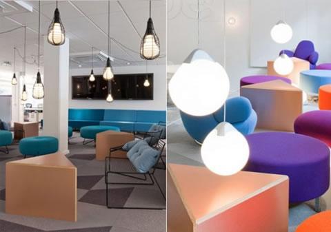 Dise o de interiores en oficinas for Diseno de interiores oficina pequena