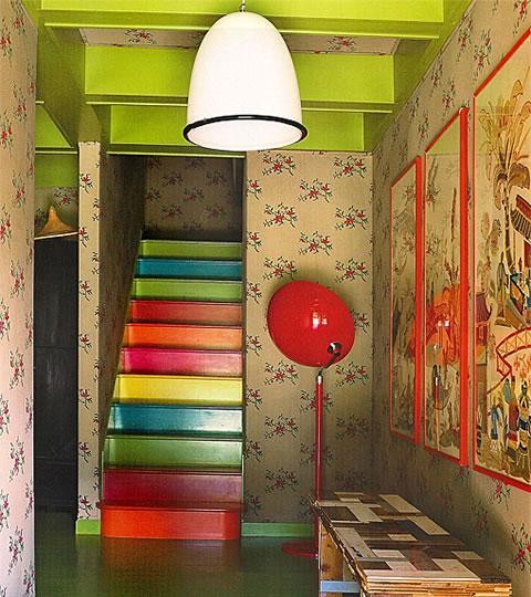 Staircase Ideas Creative Ways To Add Style: Escaleras De Colores