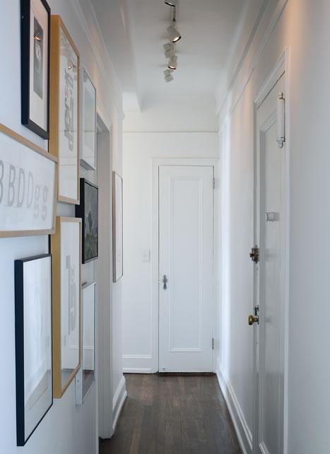 Guia para pasillos estrechos - Fotos de pasillos decorados ...