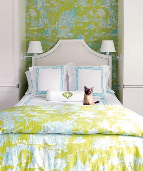 The Homify Guide To Decorating A Green Bedroom: Ideas Para Decorar La Habitación De Huéspedes