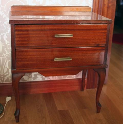 Paso a paso para restaurar una mesa de noche estilo vintage - Mesita de noche original ...
