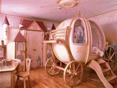 Habitaciones para niños de fantasía