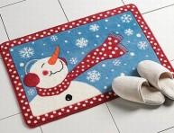imagen Ideas para decorar el baño en Navidad