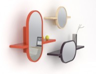 imagen Estantes con espejo incorporado
