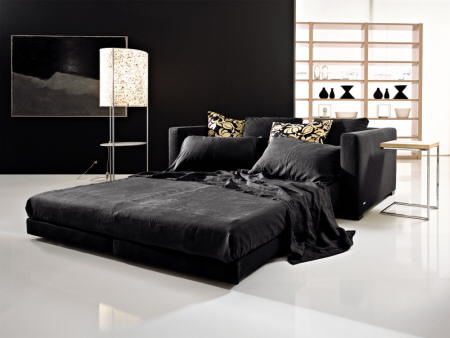 Animarse a decorar con el color negro for Sofas de lujo