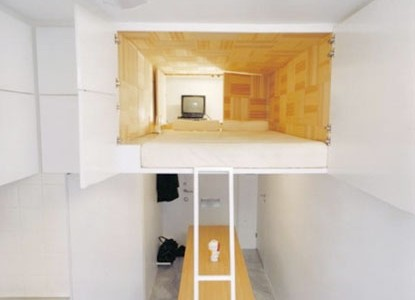 Decorar espacios pequeños de dos alturas por Sarah Coffey