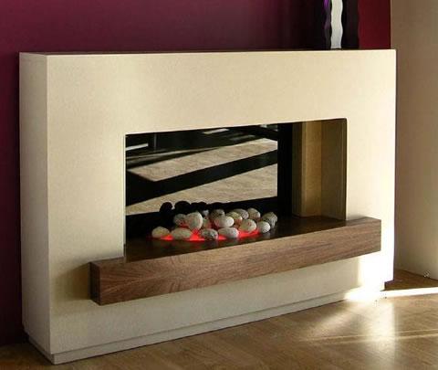 Chimeneas originales para decorar tu hogar - Fuego decorativo para chimeneas ...