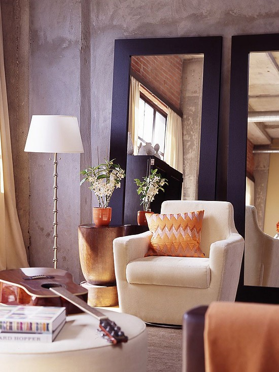 Los espejos para decorar espacios peque os gu a para decorar - Espejos pequenos para decorar ...