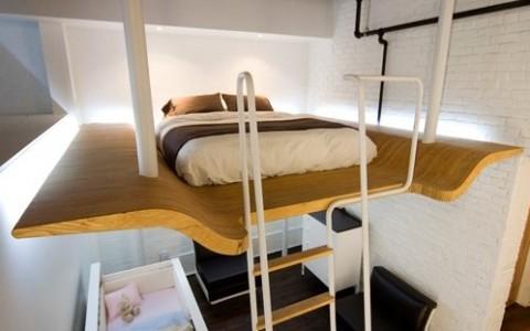 C mo decorar espacios peque os - Decoracion de loft pequenos ...