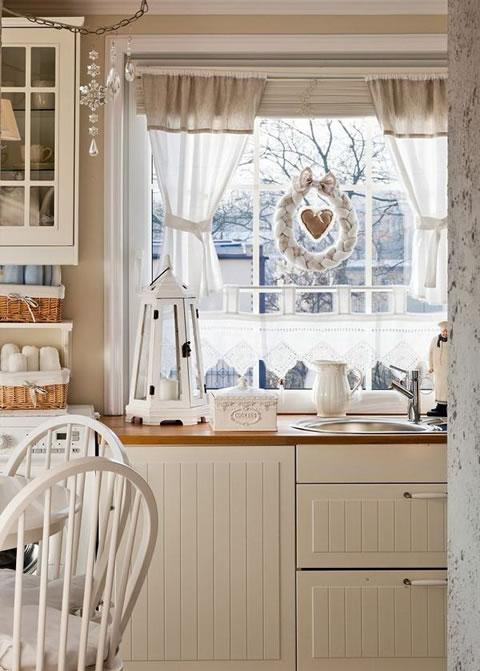 Una cocina rom ntica for Decoracion hogar acogedor