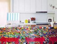 imagen Una isla de Legos para la cocina