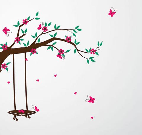 Vinilos decorativos para ni os de cherrywalls - Vinilos decorativos ninas ...