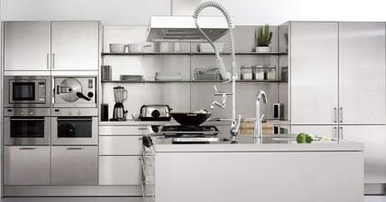 Cocinas de estilo industrial for Cocinas industriales modernas