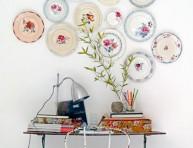 imagen Decora tus paredes con platos