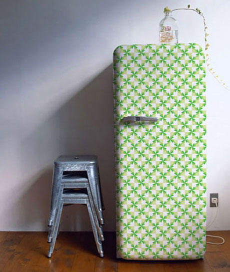 decorar cozinha velha : decorar cozinha velha:Vinilos para decorar tu nevera Artículo Publicado el 21.03.2012 por