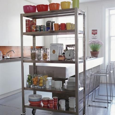 Ideas para almacenaje y divisi n de ambientes en la cocina for Almacenaje de cocina