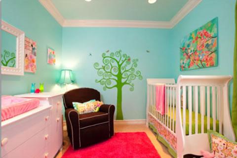 12 ideas para la habitaci n del beb - Ideas para bebes ...