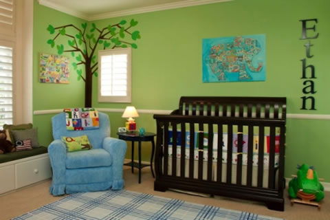 Http Www Guiaparadecorar Com 12 Ideas Para La Habitacion Del Bebe