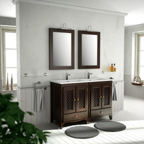 Muebles de baño rusticos - Bañoweb