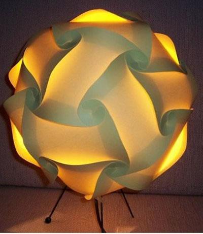 Ilumina con papel