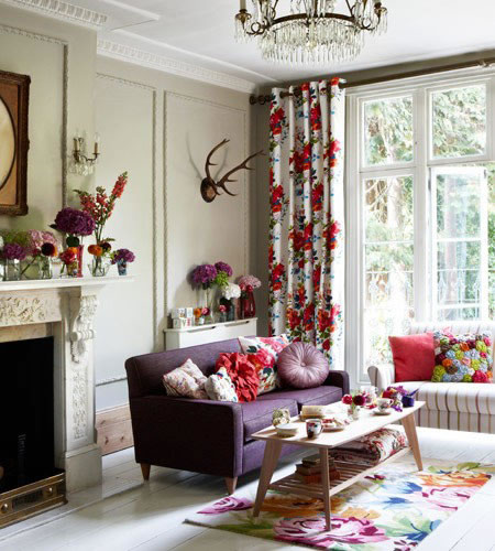 Inspiraci n floral para decorar nuestro hogar for Chimeneas decoracion hogar