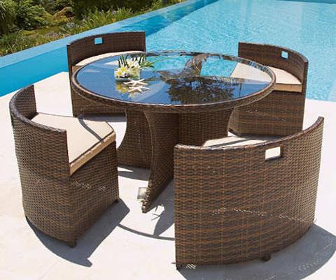 Mobiliairio de jard n en perfecto estado for Mobiliario de patio