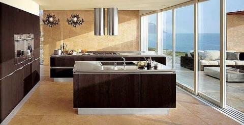 Una isla en la cocina - Cucina incassata ...