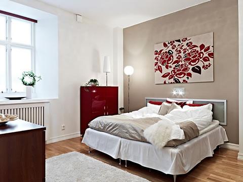Una casa decorada al estilo escandinavo moderno for Habitacion estilo escandinavo
