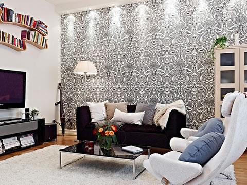 Una casa decorada al estilo escandinavo moderno for Alfombras estilo escandinavo