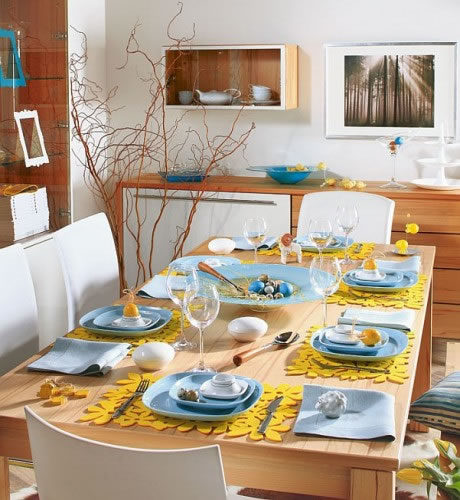 Pascuas ideas para decorar tu mesa for Ideas para decorar la casa reciclando