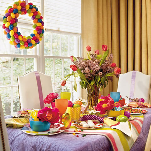 Pascuas ideas para decorar tu mesa for Ideas para arreglar la sala