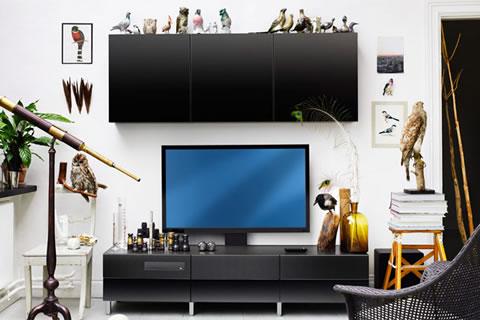 Muebles de dise o para tu televisi n for Disenos de muebles para tv minimalistas