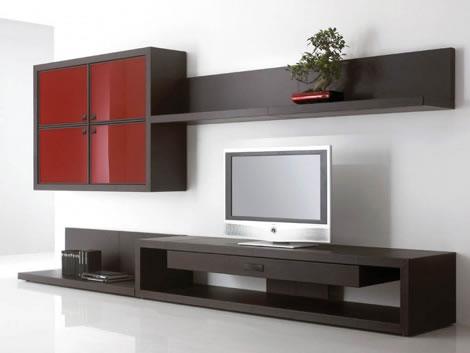 Muebles de dise o para tu televisi n - Muebles para tv minimalistas ...