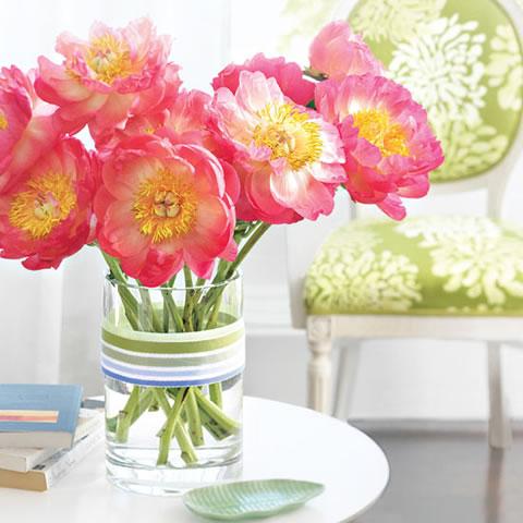 Decoración de Centros de Mesa con Flores Naturales