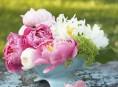 imagen Centros de mesa con flores para el día de la madre