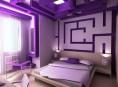 imagen Decora la habitación con el color violeta