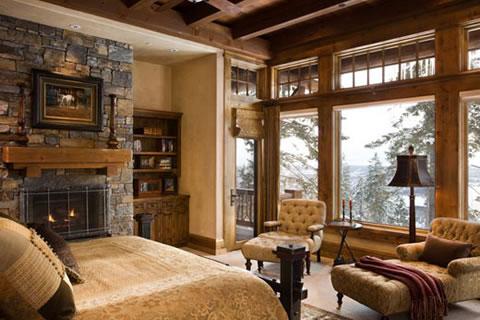 Habitaciones de estilo r stico - Decorar habitacion rustica ...