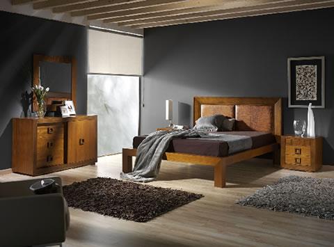 Habitaciones de estilo r stico for Dormitorios matrimoniales rusticos