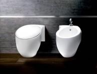 imagen Muebles de baño anclados a la pared