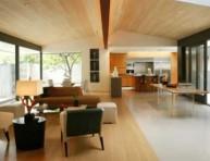 imagen Separando los ambientes mediante el piso