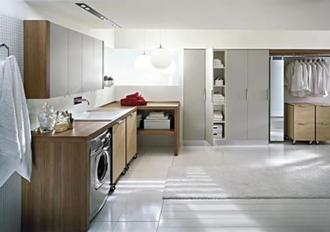 10 propuestas para una lavander a con estilo for Idee di layout di garage