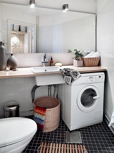 10 propuestas para una lavander a con estilo for Lavaderos modernos