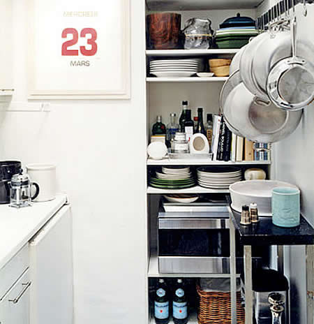 Consejos e ideas para una cocina peque a for Como decorar una cocina muy pequena