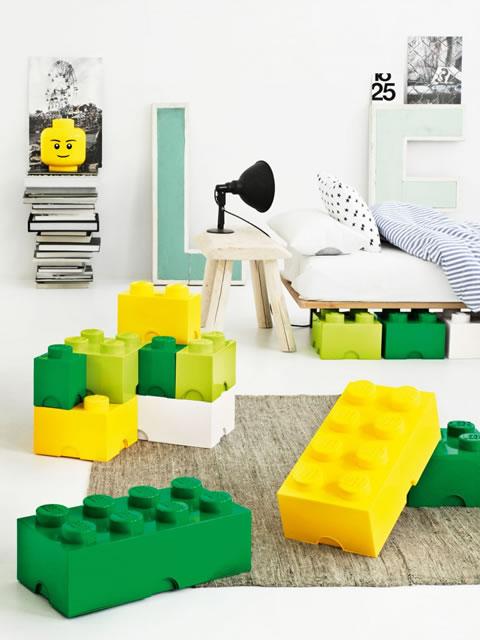 Decoraci n con lego para todo el hogar for Adornos hogar