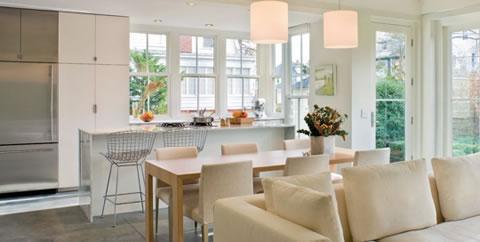 Integrar cocina y sal n - Salon y cocina integrados ...