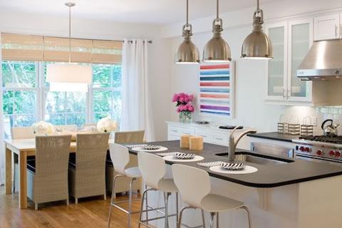 Integrar cocina y sal n for Separar cocina de salon