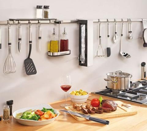 Mant n tu cocina en orden Articulos de cocina de acero inoxidable