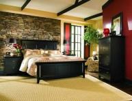 imagen Ideas para decorar tu dormitorio con piedra