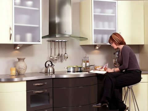 C mo elegir correctamente la campana de cocina - Cocina con campana decorativa ...